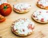 Mini pizzas au jambon