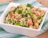 Mini taboulé de quinoa au saumon fumé