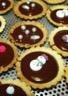 Mini-tartelettes au chocolat/café de Christophe Felder
