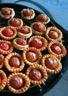Mini-tartelettes aux tomates cerises chèvre et herbes de la Garrigue