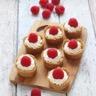 Mini tartelettes crème de mascarpone citron et framboises