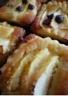 Mini tartelettes de poires pommes amandes et chocolat