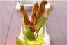 Minis brochettes de poulet à la sauce satay