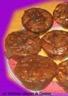 Minis fondants au chocolat aux poires et amandes