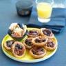 Minis tartelettes noix de pécan et raisins sec au caramel