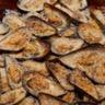 Moules de l'aiguillon gratinées à la crème d'ail