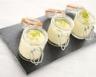 Mousse au chocolat blanc/citron fait maison