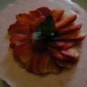 Mousse d'été façon tarte aux fraises