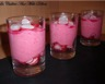 Mousse de betterave rouge et radis rose