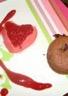 Mousse de Framboise et moelleux chocolat au cœur coulant
