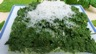 Mousseline d'épinards au mascarpone