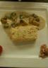 Mousseline de poisson à la brunoise de légumes croquants sauce dieppoise