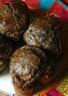 Muffins antillais boudin noir pomme et noix