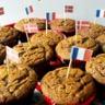Muffins au chocolat savoureux