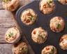 Muffins au fromage frais et au jambon
