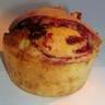Muffins aux framboises & chocolat blanc
