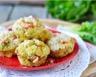 Muffins aux tomates fraîches parmesan et fromage blanc