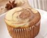 Muffins marbrés à la vanille et au chocolat