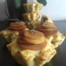 Muffins pommes de terre et boudin noir