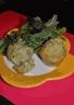 Muffins Salés au Chèvre Frais et à la Menthe