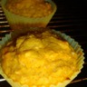 Muffins sucrés au potimarron et flocons d'avoine