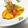 Nage de lotte au curry et coco