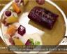 Noisette de chevreuil mousseline de céleri et betteraves