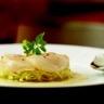 Noix de coquilles Saint-Jacques juste marinées salade croquante d'endive fenouil et pomme verte...