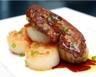 Noix de Saint Jacques gratinées au foie gras frais