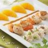 Noix de Saint Jacques risotto et son infusion chicorée miel et orange