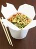 Nouilles chinoises aux légumes et aux crevettes