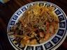 Nouilles chinoises poulet crevettes