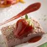 Nuage de fraises exotique