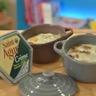 Oeuf cocotte à la crème Saint Agur et noix de Pécan