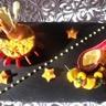 Paella Norvège sauce crèmeuse aux moules