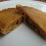 Pancake aux pommes caramélisées