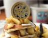 Pancakes au yaourt et aux pommes caramélisées
