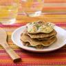 Pancakes maïs courgette