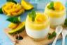 Panna cotta à la mangue et lait de coco