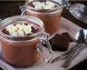 Panna cotta au chocolat et noix de coco maison