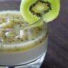 Panna cotta au coulis de kiwi