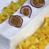 Panna cotta coco et fruits exotiques