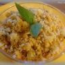 Panna cotta de poivrons et crumble parmesan basilic