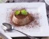 Panna cotta frais goût vanille et chocolat