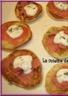 Papanas (blinis) saumon fumé et crème à l'aneth