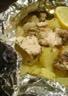 Papillote de pommes de terre et poulet au thym
