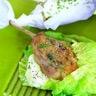 Papillotes de chou au lapin et pommes