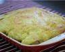 Parmentier de boudin blanc et pommes