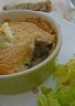 Parmentier de canard confit et purée de pommes de terre