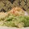 Parmentier de poisson aux purées de brocoli et pomme de terre